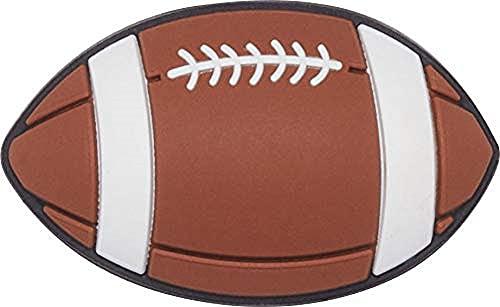 Crocs Jibbitz Sports SHOE ACCESSORY| Jibbitz for Crocs, Football, Small