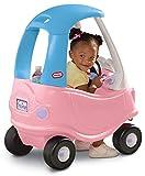 Little Tikes Auto Cozy Coupe Princesa - Para Montarse, con Bocina que Funciona, Interruptor de Encendido y Tapa de Combustible