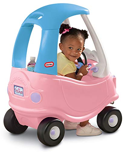 These Little Tikes outside toys fall in low-tech toys categories because of the simpler design but effective for imaginations.
