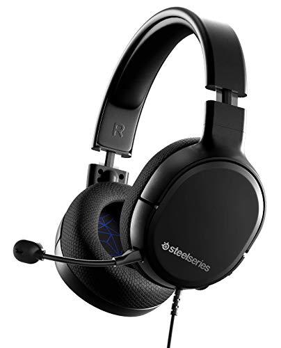 SteelSeries Arctis 1 - Kompatibel mit allen Plattformen - Abnehmbares ClearCast Mikrofon - für PS4, PS5, PC, Xbox, Nintendo Switch & Lite, Mobil (Playstation)