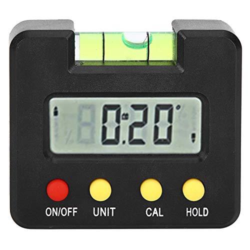 Inclinómetro digital 4 x 90° ABS Spirits Medidor de ángulo de nivel para medición ordinaria