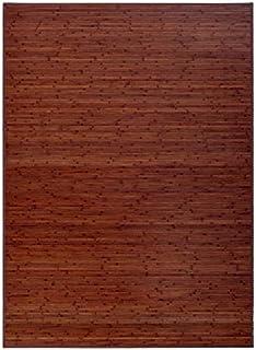 Alfombra de Salón o Comedor, Marrón, de Bambú Natural 200 X 300 cm, Natur 200x300 - Hogar y Más