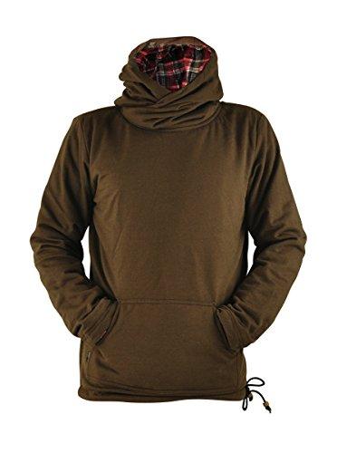 virblatt - Kapuzenpullover Herren Pullover Baja Hoodie goa Jerga Alternative Hippie Kleidung - seelenfrieden BRL