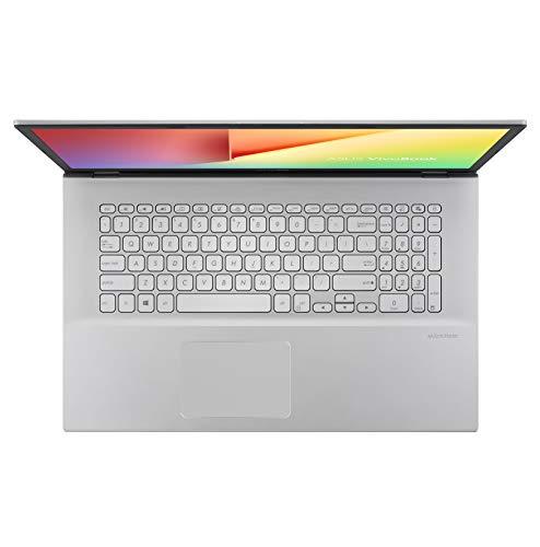 "ASUS VivoBook 17 S712 Thin and Light Laptop, 17.3"" FHD Display, AMD Ryzen 3 3250U CPU, 8GB RAM, 128GB SSD + 1TB HDD, Windows 10 Home, Transparent Silver, S712DA-DB36"