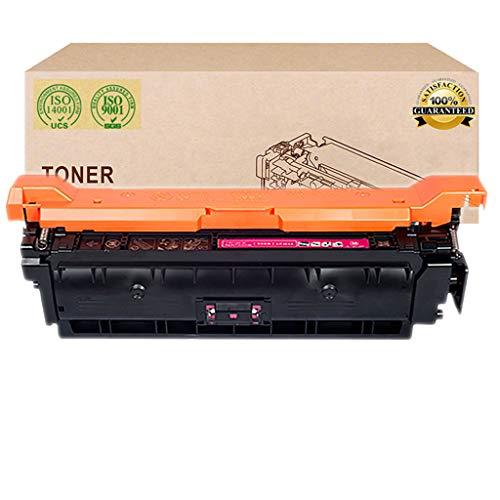 Adecuada para HP 307A Cartucho de tóner, Compatible Reemplazar Cartucho de tóner de la Impresora HP Color Laserjet CP5225 CP5225N CP5225DN Láser,Magenta