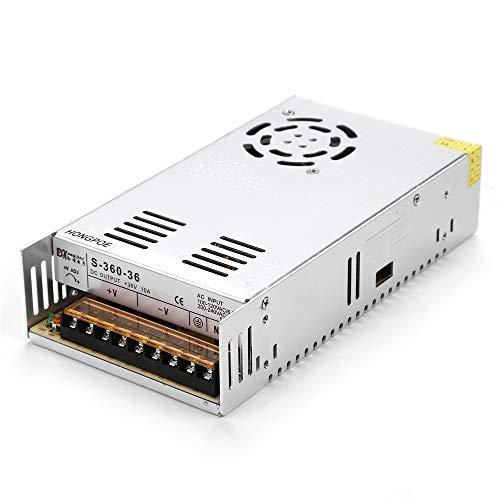 Fuente de Alimentaci/ón 12v DUMVOIN Regulable DC 12V 30A 360W Regulated Switching Power Supply Adjustable para LED Banda Strip Light