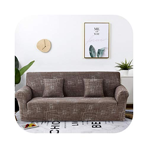 Onln 2021 Elastic Sofa Slipcover All-Inclusive Sofa Cover for Living Room Corner fundas Sofas con Chaise Longue Couch Cover Furniture Case-Color 8-2-seater 145-185cm