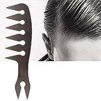 𝐂𝐡𝐫𝐢𝐬𝐭𝐦𝐚𝐬 𝐆𝐢𝐟𝐭 高品質のロングハンドル理髪コームポータブルヘアスタイルコーム実用プラスチック(4)