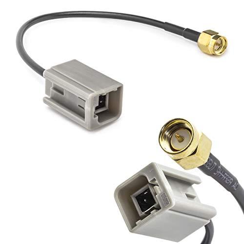 Auto auto-antenne adapter GT5 (M) stekker op SMA (M) stekker kabel GSM GPS DAB