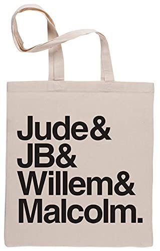 Capzy A Little Life Book Characters Borse per La Spesa Riutilizzabili Shopping Bag Beige