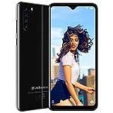 """Cellulari Offerte, Blackview A80 Plus Smartphone Offerta 4G (2021), 6.49"""" 19:9 HD+ Schermo, Octa-Core 4GB RAM 64GB ROM, 4680mAh, Fotocamera 13MP+8MP, Android 10.0 Telefono Cellulare, Dual SIM(Nero)"""