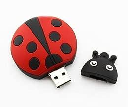 D-CLICK TM 4GB/8GB/16GB/32GB/64GB/Cool USB High Speed Flash Memory Stick Pen Drive Disk (16GB, Ladybug)
