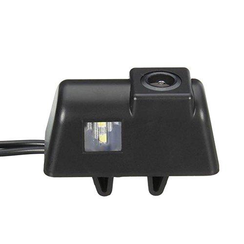 Farb-Rückfahrkamera Einparkhilfe mit Distanz-/Hilfslinien in der Kennzeichenleuchte für Ford Transit MK6 /MK7 Transporter car Camera