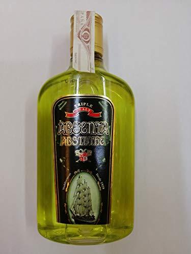 Absenta verde de 70% Alcohol 50cl Botella Plástico
