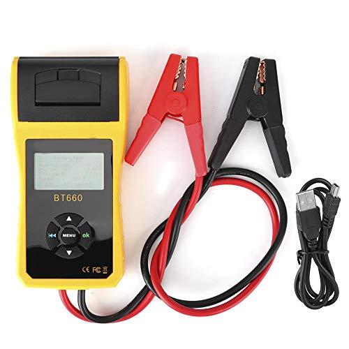 Autobatterietester BT660 Batterietest 12V Batterie Kapazitätstest Innenwiderstand Test(#2)