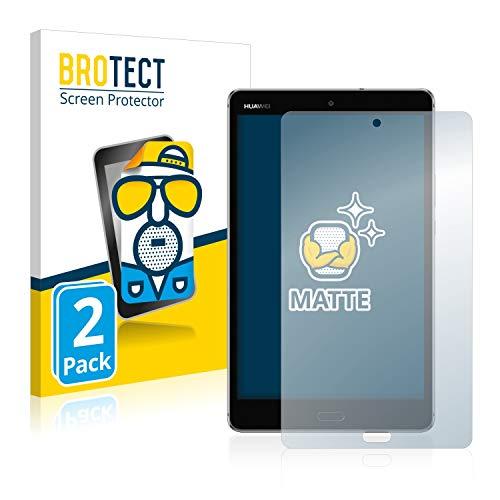 BROTECT 2X Entspiegelungs-Schutzfolie kompatibel mit Huawei MediaPad M3 Lite 8 Bildschirmschutz-Folie Matt, Anti-Reflex, Anti-Fingerprint