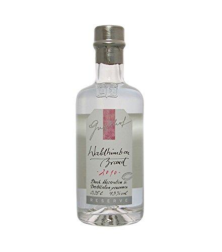 Guglhof: Waldhimbeer Brand - Jahrgangsbrand / 43% Vol. / 0,35 Liter - Flasche