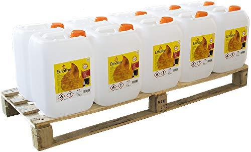 100 litri di Bioetanolo 10 Taniche da 10 Litri