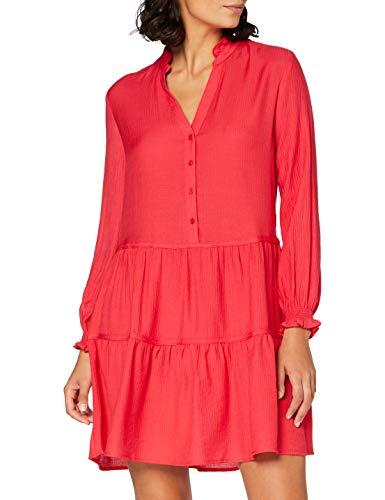 Springfield Vestido Corto Recto-c/65 Fiesta, Naranja (Orange 65), 38 (Tamaño del Fabricante: 38) para Mujer