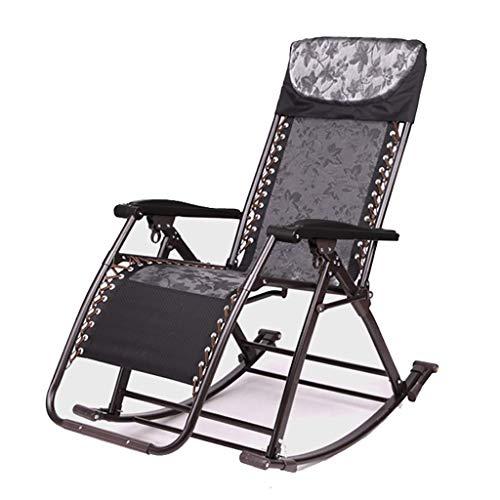 HLL Hocker, Im Freien Faltbare Schaukelstuhl Sonnen Folding Lehnstuhl Ergonomisches Design Für Deck Patio Strand Yard Bearing Gewicht 150 Kg