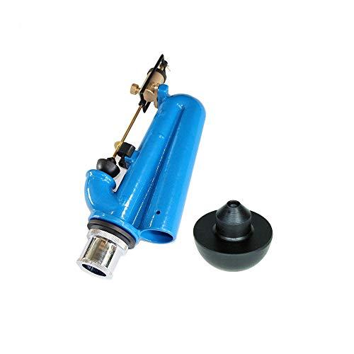 Batteria di scarico senza pulsante con gommino omaggio BRICOQUI per cassetta wc in ceramica sifone ricambio tipo Catis