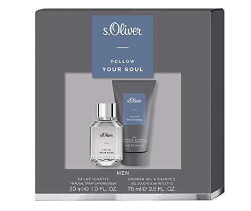 s.Oliver® Follow Your Soul Men | Duo Set: Eau de Toilette 30 ml & Duschgel 75 ml