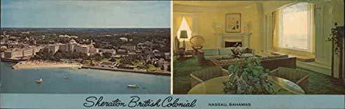 Sheraton-British Colonial Hotel Nassau, Bahamas Original Vintage Postcard
