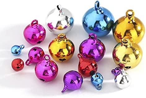 1 Super special price Pack Seattle Mall lot Multicolors 6mm 8mm 14mm Jingle Bells 10mm 12mm Small
