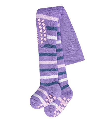 Falke Multi Stripe Collants, Multicolore (Lilac 6925), 62/68 (Taille Fabricant: 62-68) Mixte bébé