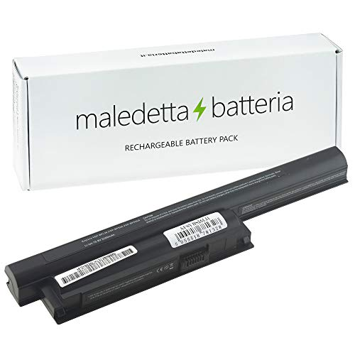 Batteria SOSTITUISCE 5200mAh 10,8V per Portatile Sony VGPBPL26, VGP-BPL26, VGPBPS26, VGP-BPS26, VGPBPS26A, VGP-BPS26A