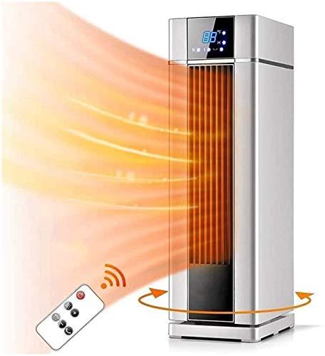 Eléctrico portáti de Aire Personal calefactor LCD Electric Heater 8H Temporizador programable 1500W Calentador rápido Acondicionador de aire Acondicionador de aire Ventilador 3 modos for sala de estar
