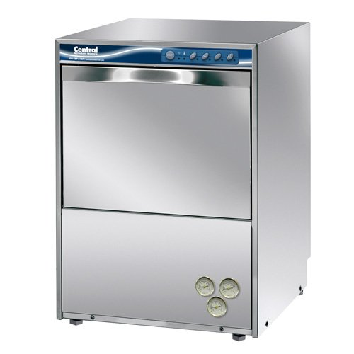 Undercounter Stainless Steel Sanitizing Dishwasher, High Temperature