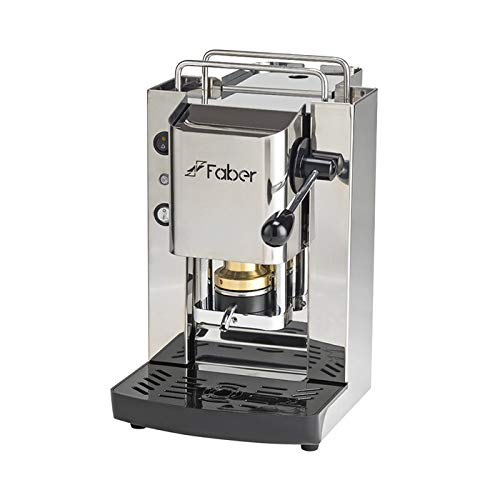 Macchina Caffe FABER SLOT TOTAL INOX in Acciao a Cialde in Carta Ese 44mm