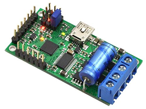 Pololu USB/RC/TTL/serie/analoge motorbesturing 5,5V-30V, 15A motor-bio-scooter voor geborstelde DC-motoren