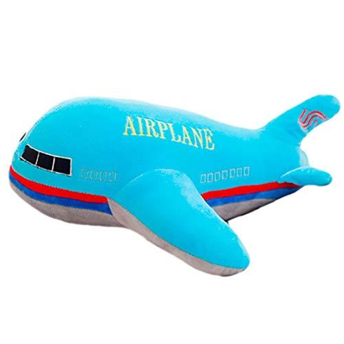 Flugzeug-Modell Plüschtier Gefüllte Kissen-Kissen-Puppe für Kinder Geschenk Home Decoration Supplies Größe 40 cm