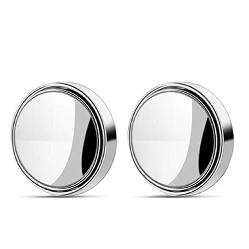 Espejo Angulo Muerto Coche, Exterior Coche Espejo Retrovisor Hd Gran Angular Girar Ajustable 360 ° Espejo Retrovisor Universal,Espejo De Punto Ciego Giratorio