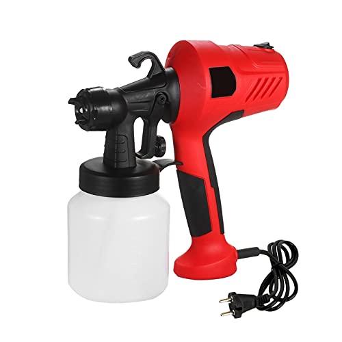 rociador de pintura Rociador de pintura eléctrica extraíble pintura de alta presión Pistola aerosol Aire regulable y control de flujo de pintura rociador de pintura airless (Color : As pic)