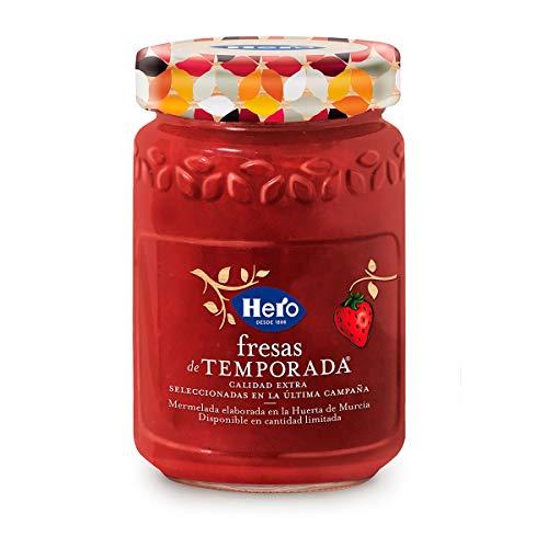 Hero - Mermelada de Fresa de Temporada Calidad Extra Pack de 4x350 g