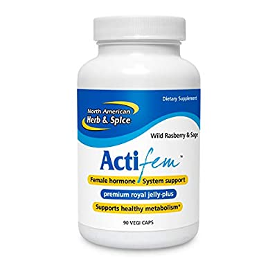 North American Herb and Spice Actifem, 90 Count