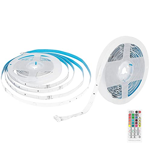 winshiden 2PCS 7. 5m 5050 LED Strip Lights Music Light Strips for Party Home 100- 240V