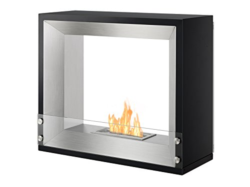 Best Bargain IGNIS UL/CUL Approved Freestanding Ventless Bio Ethanol Fireplace - Mecca