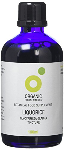 Organic Herbal Remedies 100 ml Liquorice Tincture