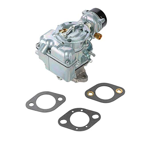 ALAVENTE Carburetor Carb for Ford YF C1YF 6 CIL Type Carter 240-250-300 Engines 6 Cylinder 1975-1982 Vacuum D5TZ9510AG White Outlook (Automatic Choke)