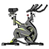 Cyclette Magnetica, Bici da Spinning, Cyclette da Interno, Ultra-silenziosa, Attrezzatura per Il...