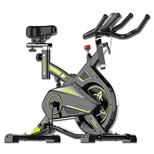 Cyclette Magnetica, Bici da Spinning, Cyclette da Interno, Ultra-silenziosa, Attrezzatura per Il Fitness, Maschio, Femmina, Bici Sportiva a Pedali Dimagranti,Gray,100 * 54 * 103(cm)