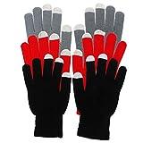 Lurrose Lot de 3 paires de gants d'équitation épais pour écran tactile