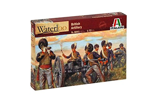 Italeri 6041 - Napoleonic Wars - British Artillery  Scala 1:72