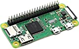 Raspberry Pi Zero WH with 40PIN Pre-Soldered GPIO Headers,Built-in WiFi and Bluetooth