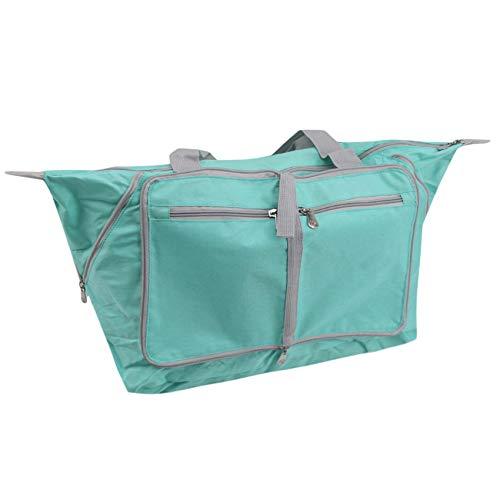 Schwenly - Bolsa de equipaje plegable para el fin de semana, Green (Verde) - Schwenly