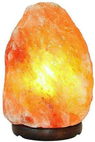 Healing IONES Therapeutic Natural Himalayan Pink/Orange Rock Salt lamp
